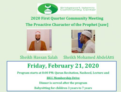 2020 First Quarter Community Meeting